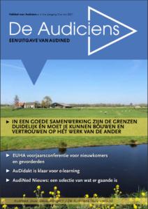 Cover van vakblad De Audiciens, mei 2021