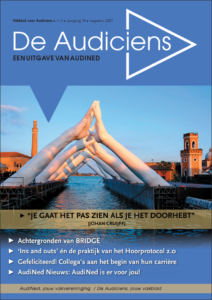 Cover van De Audiciens, augustus 2021